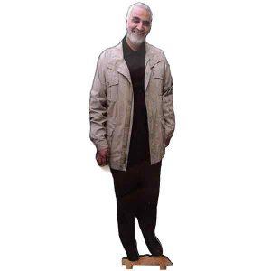 تندیس شهید حاج قاسم سلیمانی کد 001